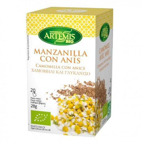 Manzanilla con Anís 20 Bolsitas (Artemis)