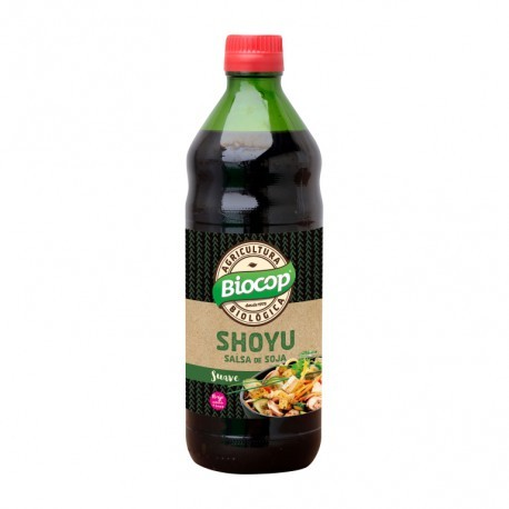 Salsa de Soja Shoyu 500 Ml (Biocop)