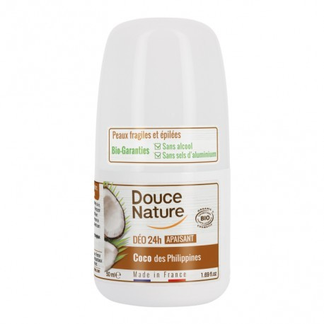 Desodorante Roll-on Coco 50 Ml (Douce Nature)