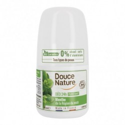 Desodorante Roll-on Menta 50 Ml (Douce Nature)