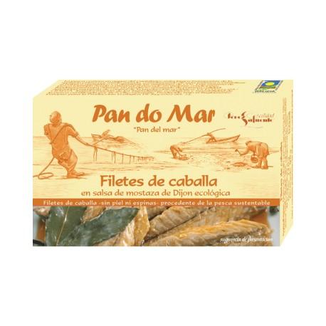 Filetes de Caballa en Salsa de Mostaza Dijón 120 Gr (Pan do Mar)