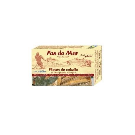 Filetes de Caballa en Salsa Picante 120 Gr (Pan do Mar)