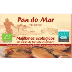 Mejillones en Salsa de Tomate 120 Gr (Pan do Mar)