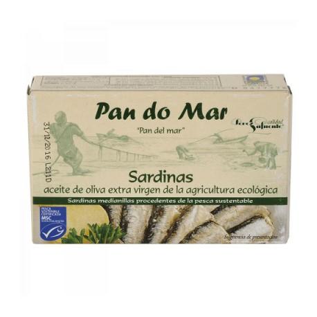 Sardinas en Aceite de Oliva y Limón 120 Gr (Pan do Mar)