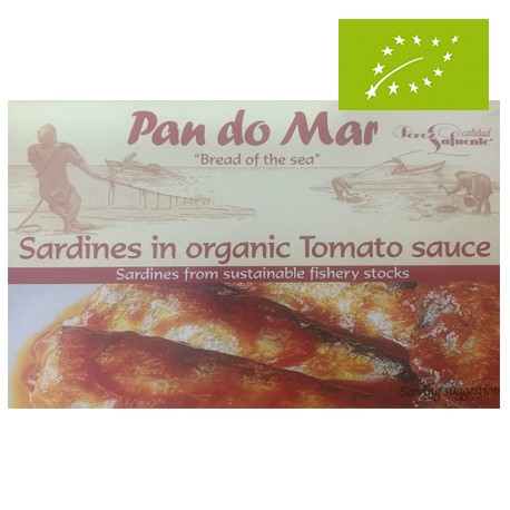 Sardinas en Salsa de Tomate 120 Gr (Pan do Mar)