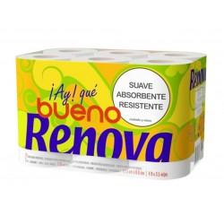Papel Higiénico 100% Reciclado (Renova-Green)