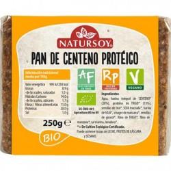 Pan de Centeno Protéico 250 Gr (Natursoy)