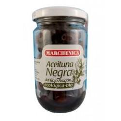 Aceituna Negra Natural sin Líquido 200 Gr (Marchenica)