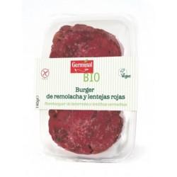 Burguer de Remolacha y Lentejas Rojas Sin Gluten 140 Gr (Germinal)