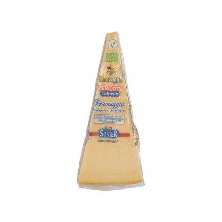 Queso Pasta Dura Sin Lactosa 300 Gr (Bio Voglia)