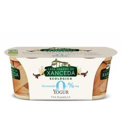 Yogur Desnatado con Vainilla 2 x 125 Gr (Casa Grande de Xanceda)