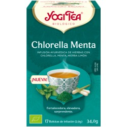 Yogi Tea Chlorella Menta 17 x 2 Gr