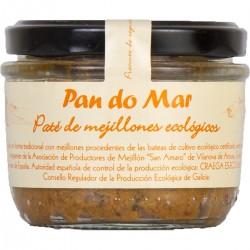 Paté de Mejillones 125 Gr (Pan do Mar)
