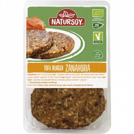 Burguer Tofu Zanahoria 2 Und (Natursoy)