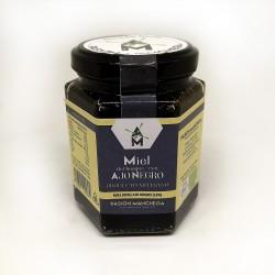 Miel con Ajo Negro Eco, Frasco 240 Gr (Pasión Manchega)