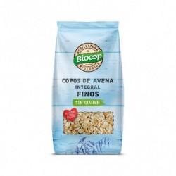 Copos de Avena Integral Finos Sin Gluten 500 Gr (Biocop)