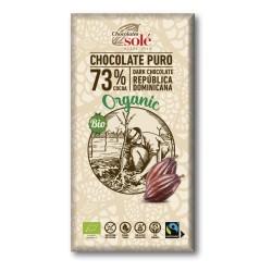 Chocolate Negro 73% Cacao 100 Gr (Solé)