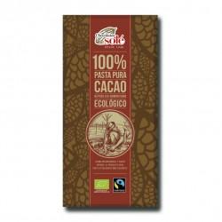 Chocolate Negro 100 % 100Gr (Solé)