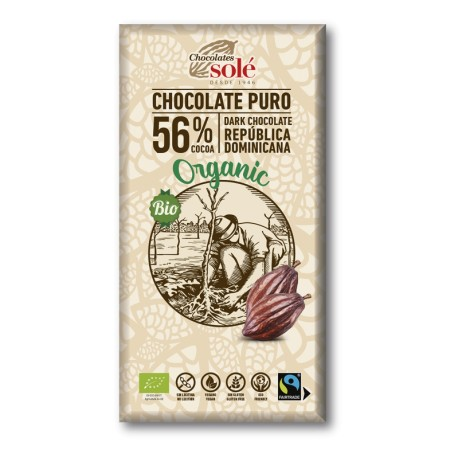 Chocolate Negro 56 % (Solé)