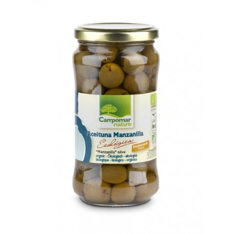 Aceituna Manzanilla Sin Hueso 350 Gr (Campomar-Nature)