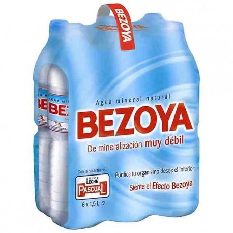 Agua Mineral, Pack 6 x 1,5 L (Bezoya)