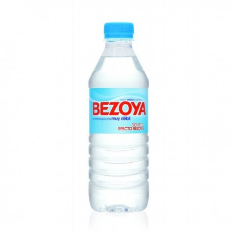 Agua Mineral, Caja de 24 x 0,5 L (Bezoya)