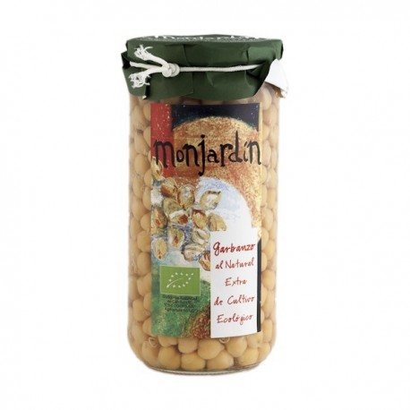 Garbanzos al Natural 660 Gr (Monjardin-Organic))