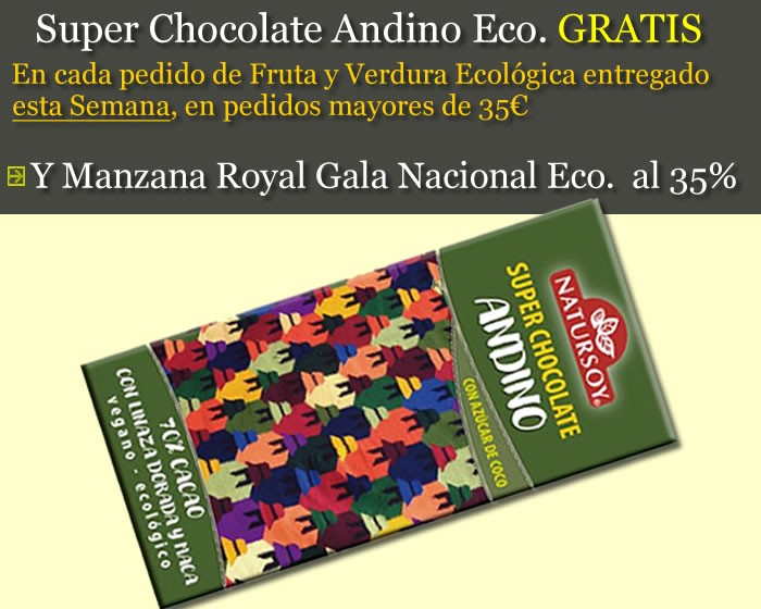 Super Chocolate Andino de Regalo