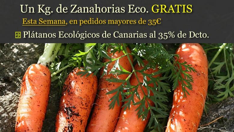 Un Kg. de Zanahorias Eco Gratis